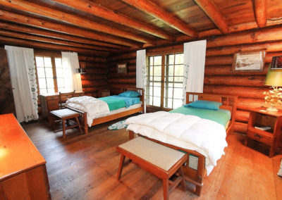 Bedroom in Lodge